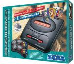 Новая игровая консоль Sega MEGADRIVE 2 (VG 1627) (3 варианта: с 25 встроен. играми, 75 и без них)